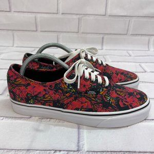 Vans Atwood Butterfly Floral Red low top Shoes